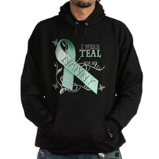 I Wear Teal for my Nanny Hoodie