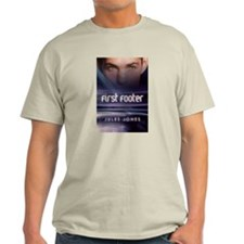 First Footer Ash Grey T-Shirt
