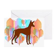 Pharaoh Hound Valentine Cards (Pk of 10)