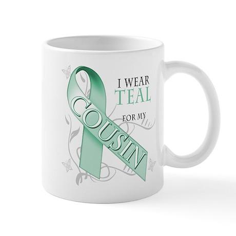I Wear Teal for my Cousin Mug