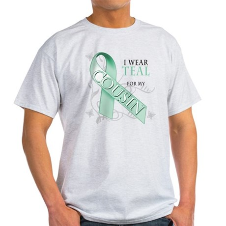 I Wear Teal for my Cousin Light T-Shirt