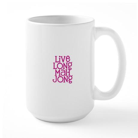 Live Long Mah Jong Large Mug
