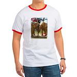 Gypsy & Wanda - Asian Elephants Ringer T
