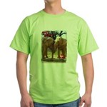 Gypsy & Wanda - Asian Elephants Green T-Shirt