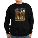 Gypsy & Wanda - Asian Elephants Sweatshirt (dark)