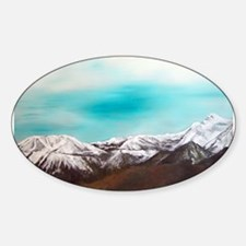 Mt Rose Oval Decal