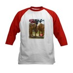 Gypsy & Wanda - Asian Elephants Kids Baseball Jers