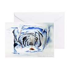 Cave mistress Greeting Card
