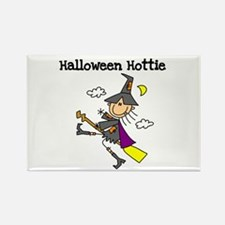 Halloween Hottie Rectangle Magnet