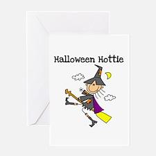 Halloween Hottie Greeting Card