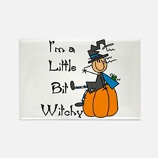 Little Bit Witchy Rectangle Magnet (100 pack)
