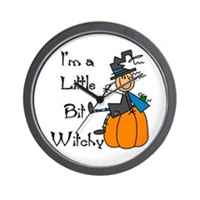 Little Bit Witchy Wall Clock