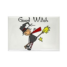 Halloween Good Witch Rectangle Magnet