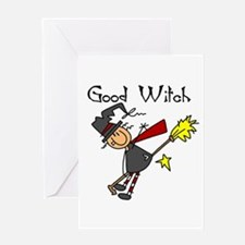 Halloween Good Witch Greeting Card
