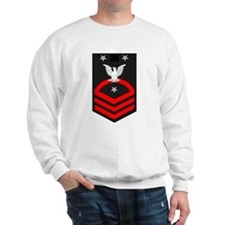 Command Master Chief Red Sweatshirt