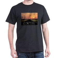 Cute Black sun T-Shirt