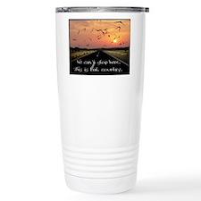 Cute Country road Travel Mug