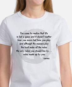 pennywise lyrics 2 Women's T-Shirt