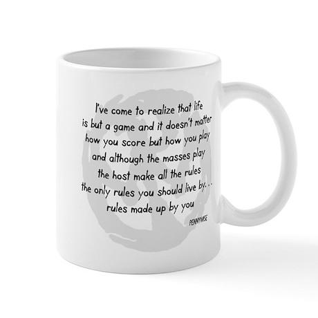 pennywise lyrics 2 Mug