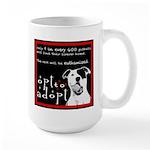 sad statistics Large Mug