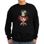 Lady Hatter Sweatshirt (dark)