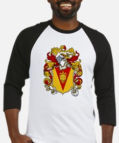 Curling Coat of Arms Baseball Jersey