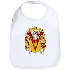 Curling Coat of Arms Bib