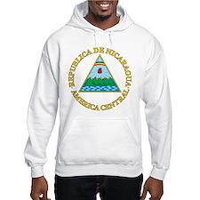 Nicaragua Coat Of Arms Hoodie