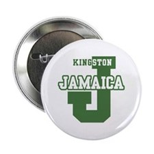 "Kingston Jamaica 2.25"" Button"