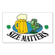 Size Matters Rectangle Decal
