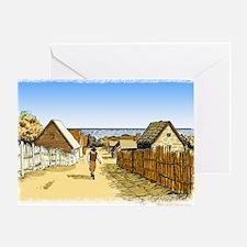 Plimoth Plantation Greeting Card
