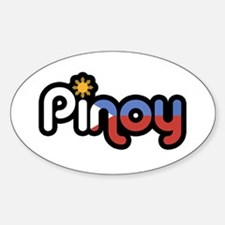 pinoy Oval Decal