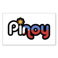 pinoy Rectangle Decal