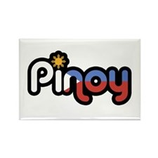 pinoy Rectangle Magnet