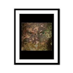 Green Man Framed Panel Print