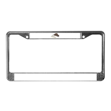 Bookworm accessories License Plate Frame