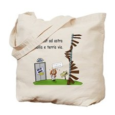 Cute Ad astra Tote Bag