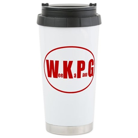 WKPG Eruo Stainless Steel Travel Mug