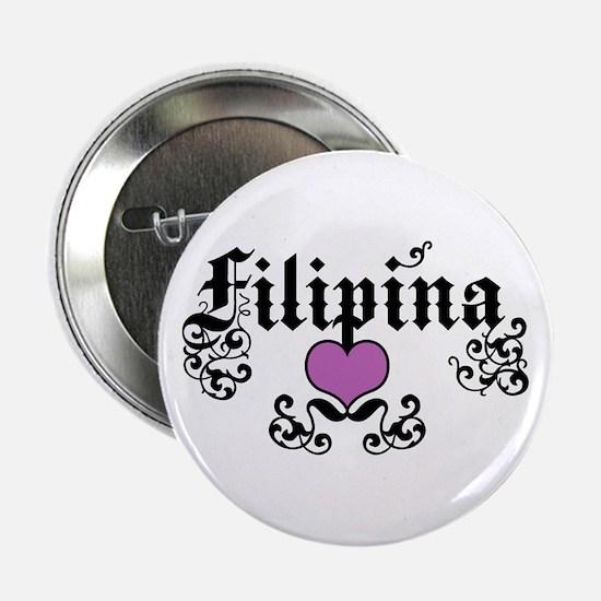 "Filipina 2.25"" Button"