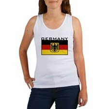 German Flag Women's Tank Top