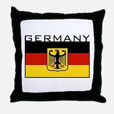 German Flag Throw Pillow