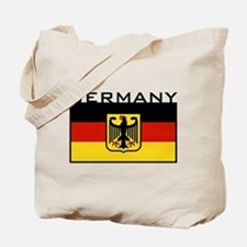 German Flag Tote Bag