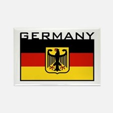 German Flag Rectangle Magnet