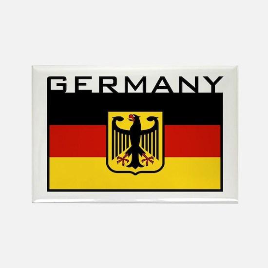 German Flag Rectangle Magnet
