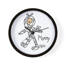 Mummy Halloween Wall Clock