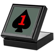 1-506th Infantry Battalion Insignia Keepsake Box
