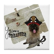 Cairn Terrier Treasure Tile Coaster