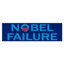 Nobel Failure Anti Obama Bumper Bumper Sticker