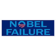 Nobel Failure Anti Obama Bumper Bumper Sticker