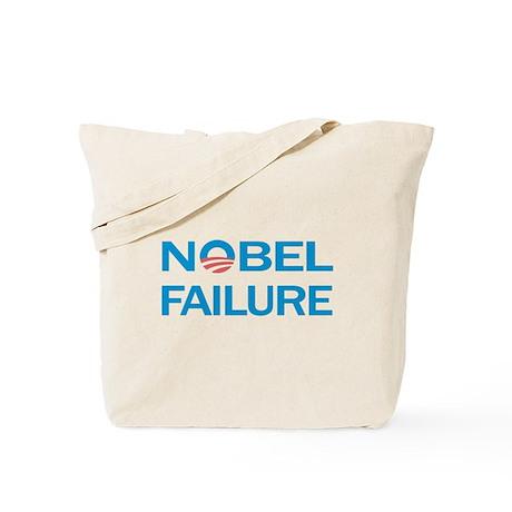 Nobel Failure Anti Obama Tote Bag